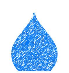 drop grunge icon vector image