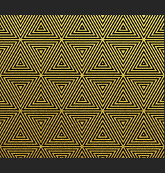 gold geometric abstract pattern background vector image