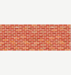 seamless brick wall texture vector image
