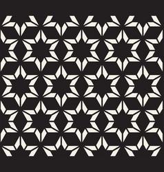 seamless geometric pattern stylish striped vector image