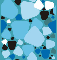 stones a seamless pattern vector image