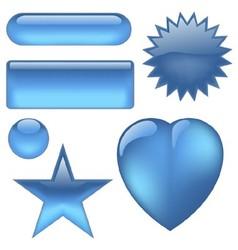 Aqua Buttons vector image vector image