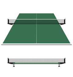 Table tennis ping pong net vector image vector image