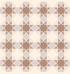 Arabian geometric star seamless pattern background vector