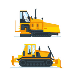Machines trucks vehicles for transportation vector
