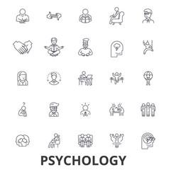 Psychology psychologist counseling test vector