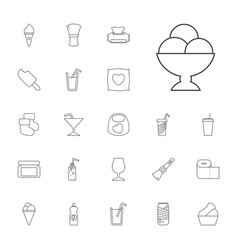 22 soft icons vector