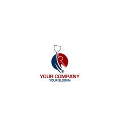 doctor help logo design vector image