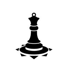 figure queen sign vector image