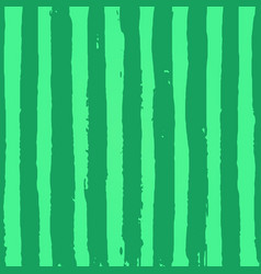 green striped watermelon texture with hand drawn vector image