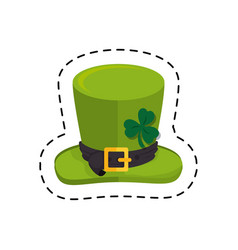 leprechaun hat isolated icon vector image