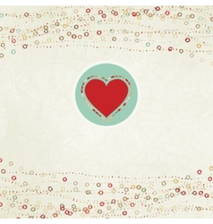 Valentine card with placeholder EPS 8 vector image
