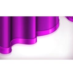 Violet invitation background vector image vector image