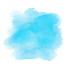 Watercolour background in shades blue vector