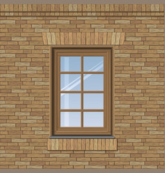 arched old window vector image