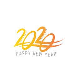 2020 new year vector