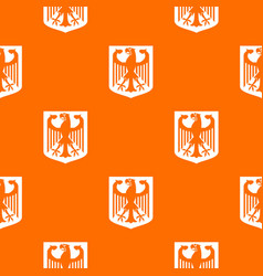 coat of arms of germany pattern seamless vector image