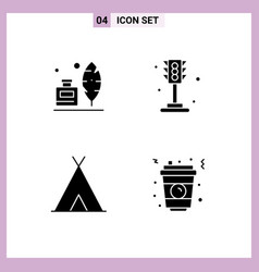 Creative icons modern signs and symbols adobe vector