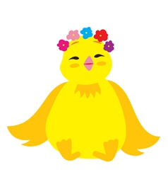 Cute Chick 3 vector image
