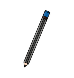 Isolated study pencil vector