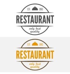 Logo label emblem badge and logotype elements vector