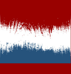 netherlands flag design concept vector image