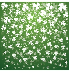 Patrick day transparent lights vector