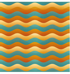 sand wave geometric seamless pattern vector image