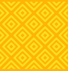 seamless square pattern - colorful design vector image