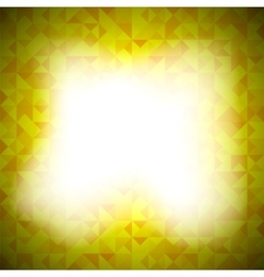 Yellow-Mosaic-Banner vector image