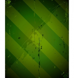 green striped grunge military texture vector image vector image