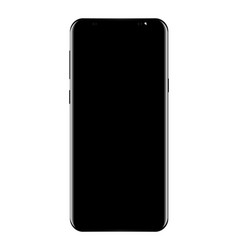 new phone drawing high detail isolated on white vector image vector image