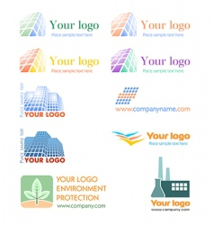 logo set vector image vector image
