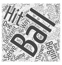 From Serving to the Hit Word Cloud Concept vector