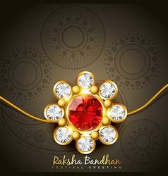 Hindu rakshabandhan festival vector