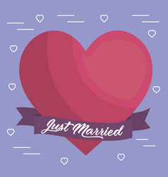 Just marrief design vector