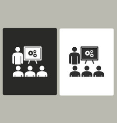 Management consulting - icon vector