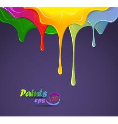 Paints vector image