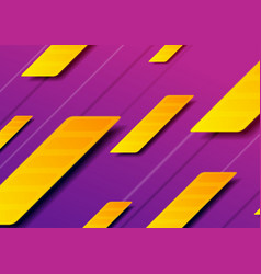 purple orange abstract geometric minimal vector image