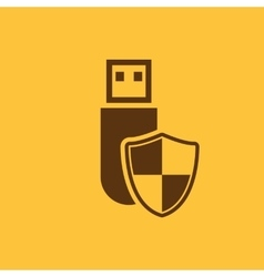 The data protection icon Transfer and connection vector image