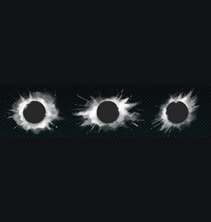 White powder explosions with black round banners vector