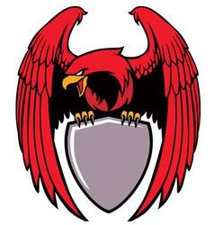 eagle grip a sign vector image