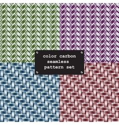 Color carbon fiber vector
