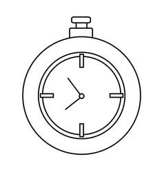 chronometer icon image vector image