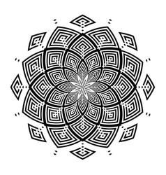 Circle rotation pattern vector