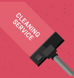 Cleaning service banner vector