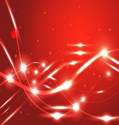 line abstract shining background vector image
