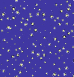 Stars and sky at night seamless pattern vector