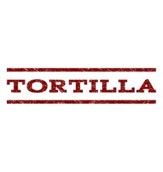 Tortilla Watermark Stamp vector