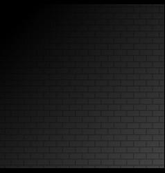 wall on dark background stonewall modern interior vector image